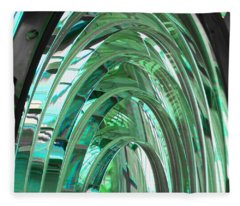 Crystal Cathedral Fleece Blanket