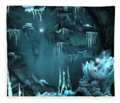 Crystal Cave Mystery Fleece Blanket