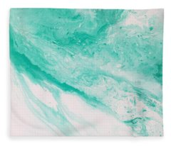 Crystal Wave 1 Fleece Blanket