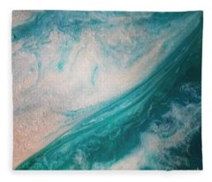 Crystal Wave15 Fleece Blanket