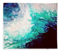 Crystal Wave16 Fleece Blanket