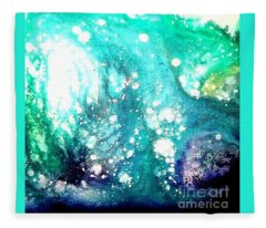 Crystal Wave7 Fleece Blanket