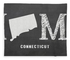 Ct Home Fleece Blanket