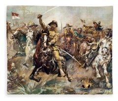Cuba: Rough Riders, 1898 Fleece Blanket