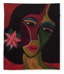 Cubanita Fleece Blanket