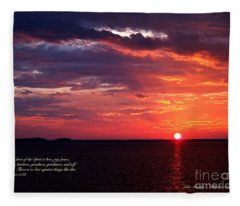 Cumc Solstice Fleece Blanket