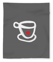 Cup Of Love- Shirt Fleece Blanket