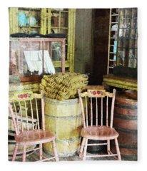 Cupboards Full Of Poetry Fleece Blanket