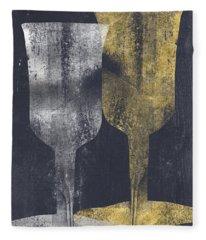 Cups For Elijah And Miriam- Art By Linda Woods Fleece Blanket