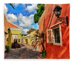 Curacao Colours Fleece Blanket