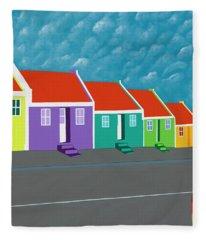 Curacao Dreams IIi Fleece Blanket