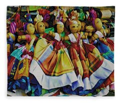 Curacao Girls Fleece Blanket