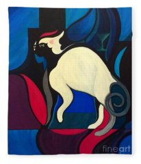 Pyewacket Fleece Blanket