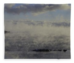 Curtis Island Light Fleece Blanket