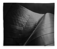 Curves Frank Gehry Aia Fleece Blanket