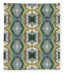 Cymatics Geometry #1545 Fleece Blanket