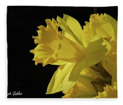 Daffodil Fleece Blanket