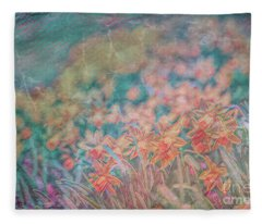 Daffodils Fleece Blanket