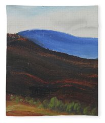 Dagrar Over Salenfjallen- Shifting Daylight Over Distant Horizon 2 Of 10_0035 50x40 Cm Fleece Blanket