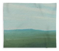 Dagrar Over Salenfjallen- Shifting Daylight Over Distant Horizon 4 Of 10_0029 51x40 Cm Fleece Blanket