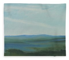 Dagrar Over Salenfjallen- Shifting Daylight Over Distant Horizon 6a Of 10_0027 50x40 Cm Fleece Blanket