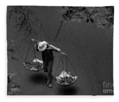 Daily Life Iv Fleece Blanket