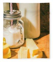 Dairy Farm Products Fleece Blanket