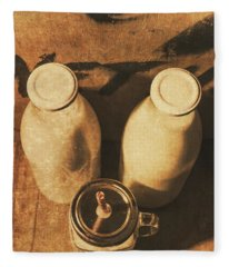Dairy Nostalgia Fleece Blanket