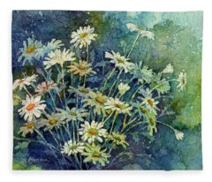 Daisy Bouquet Fleece Blanket