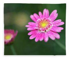 Daisy Flower Fleece Blanket