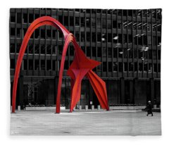 Daley Plaza Fleece Blanket
