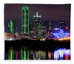 Dallas Cowboys Star Night Fleece Blanket