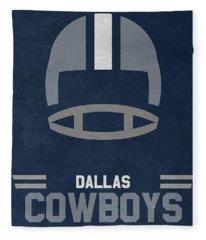 Dallas Cowboys Vintage Art Fleece Blanket