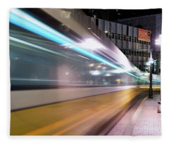 Dallas Dart Motion 012618 Fleece Blanket