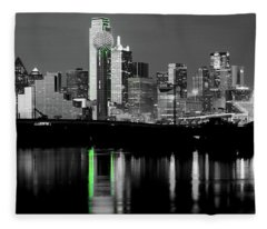 Dallas Skyline Gr91217 Fleece Blanket