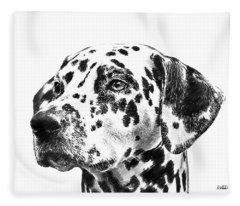 Dalmatians - Dwp765138 Fleece Blanket