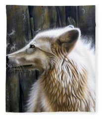 Dance -the Moon Fleece Blanket