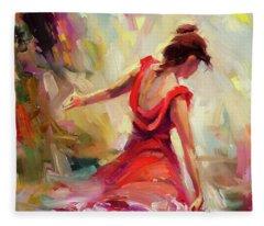 Flamenco Fleece Blankets