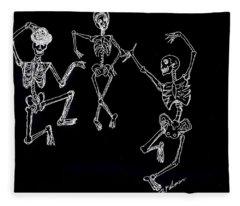 Dancing In The Dark Fleece Blanket