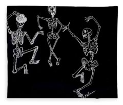 Dancing In The Dark Fleece Blanket