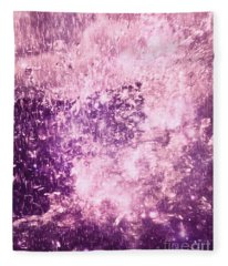 Dancing In The Rain Fleece Blanket