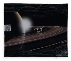 Dancing To The Music Of The Spheres Fleece Blanket