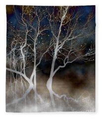 Dancing Tree Altered Fleece Blanket