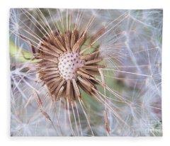 Dandelion Delicacy Fleece Blanket