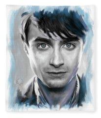 Daniel Radcliffe As Harry Potter Fleece Blanket