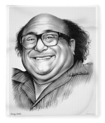 Danny Devito Fleece Blanket