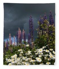 Dark Clouds Fleece Blanket