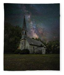 Dark Enchantment  Fleece Blanket