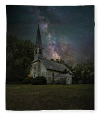 Dark Enchantment  Fleece Blanket