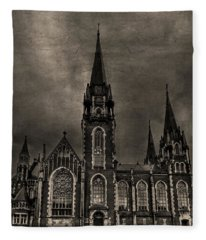 Dark Kingdom Fleece Blanket